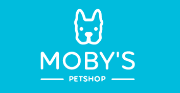 Moby's Pet Shop logo